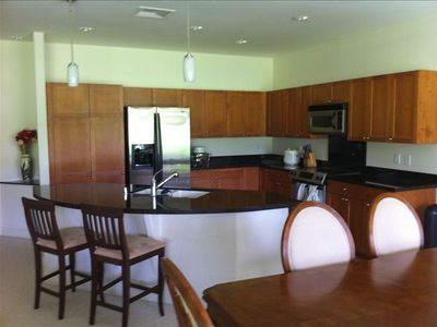 Executive Kitchen with Stainless Steel Appliances