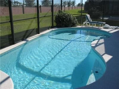 private screened pool