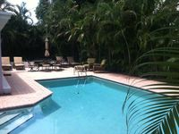 Tropical Hide-A-Way With Lush Pool Area, Bike To Town & Beach, Pet Friendly