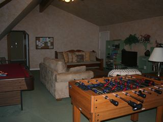 Auburn house photo - The Family Room also has a Foos Ball table.