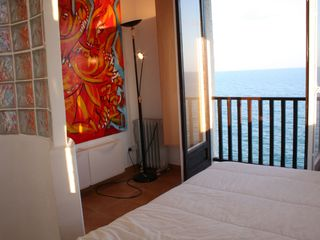 Sitges Town apartment photo - Apt3-LIGHTHOUSE: Master bedroom