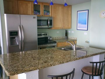 Kitchen with Stainless Appliances & Filtered Water