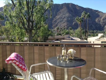 Indian Wells condo rental - Close up views to the mountains.