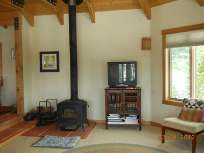 White Salmon house rental - Living room