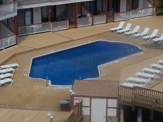 Lake Ozark condo photo - Pool next to our building