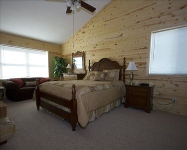 Beautiful Master Bedroom with queen bed