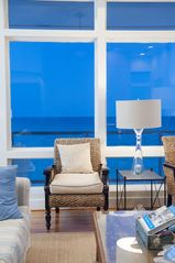 Inlet Beach house photo - view from family room. So close to water you don't see sand