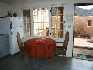 Santa Fe cottage photo - Kitchen and courtyard