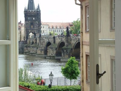 Charles Bridge as Viewed from the Bedroom