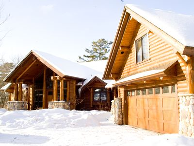 Longville cabin rental - Cabin in Winter