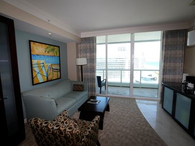 Luxury Ocean View Suite at Renowned Miami Beach Hotel