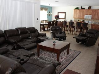 Bellavida Resort house photo - Leather Recliners in Family Room