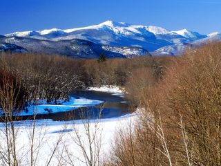Conway house photo - Mount Washington from the scenic vista looking beautiful cloaked in white!