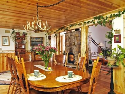 Jackson Hole cabin rental - Dining Room in Bed & Breakfast Main House
