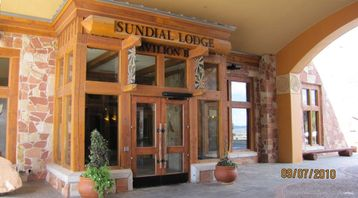 Entrance To Sundial Front Desk Check-in Area