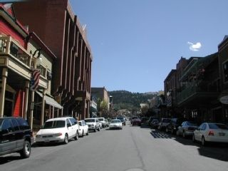 Main Street in Old Town Park City