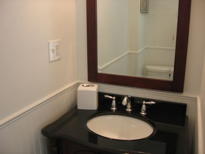 Brand New Bathroom on Second Floor.