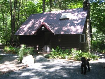 Exterior of Cottage (dog not included)