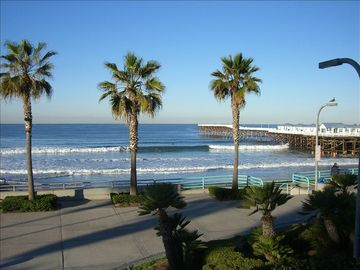 Pacific Beach condo rental - Veiw from Balcony