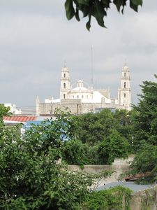 View of main Cathedral from rooftop