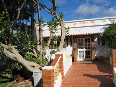 Lovely rustic cottages with pool in Lagos, sleeps 4, 10 min from beach and town - White Cottage Luis
