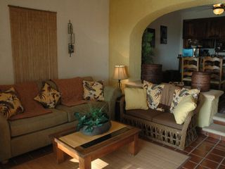 San Jose del Cabo condo photo - Living room has ocean view!