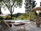 the villa and the swimming pool - San Giovanni Valdarno villa vacation rental photo