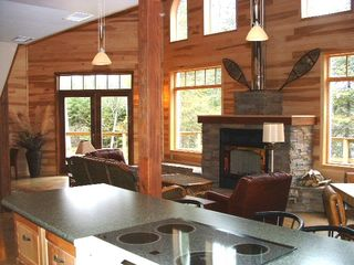 Lake Vermilion house photo - Modern kitchen , open to the great room.