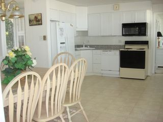 Brant Beach house photo - Full eat-in kitchen on first floor too!