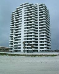 Daytona Beach condo photo - The Horizons is right on the beach. We are 4th floor in the middle. Great View
