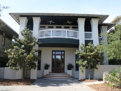 Grand Entryway, 13 Windward Ln, Rosemary Beach, FL