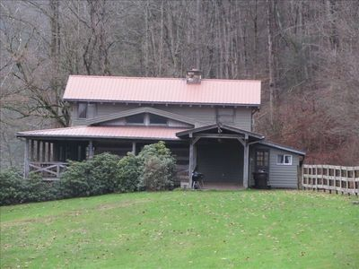 River s way lodge on the south holston river