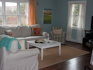 "Truro house photo - Bright and ""beachy"" living room"