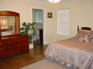 Coldspring house photo - Solid wood furniture Master suite#2 has lots of storage space