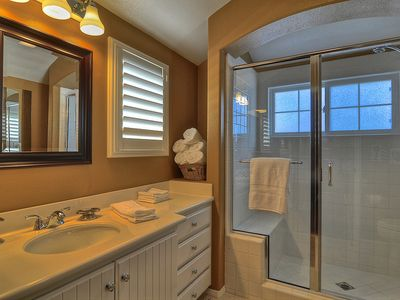 Huge Walk-In Shower and Added Amenities in the Master Bath.