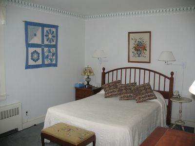 Corner double bedroom on first floor.