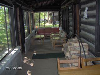 Honor cabin photo - Great screened in porch