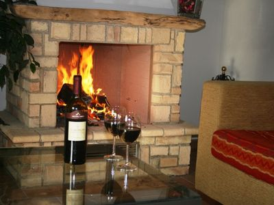 Francavilla d'Ete apartment rental - Fireplaces are ideal on autumn evenings