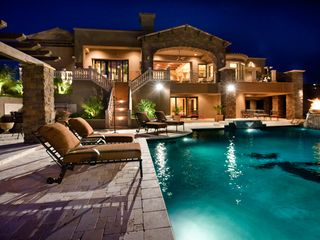 Scottsdale North estate photo - .View of the back of the house and pool
