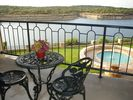 Private Balcony overlooking Lake Travis