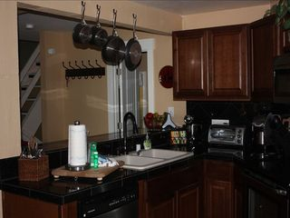 Mammoth Lakes condo photo - New kitchen with granite and cabinets