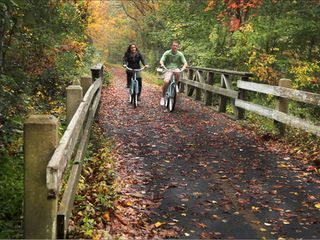 Falmouth estate photo - The bike path is gorgeous in fall as well as in spring and summer!