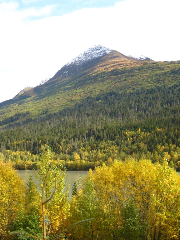 Fall colors at the chalets start mid Sept, peak and can last to mid Oct.