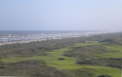 Overlooking the Gulf of Mexico and the Newport Beach Golf Resort !!