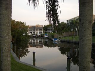 Siesta Key condo photo - The boat basin on the grounds of the condo