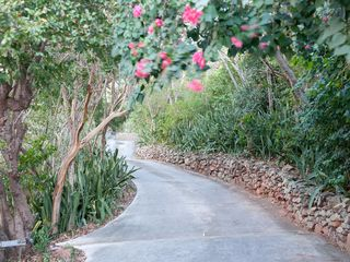 Chocolate Hole villa photo - The long beautiful driveway to your perfect oceanside getaway