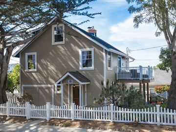 Pacific Grove house rental - This beloved landmark has gone through eight months of renovations.
