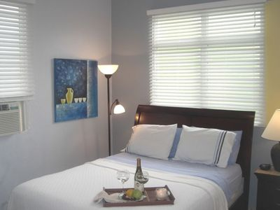 Master Bedroom - King size bed (all rooms with A/C)!