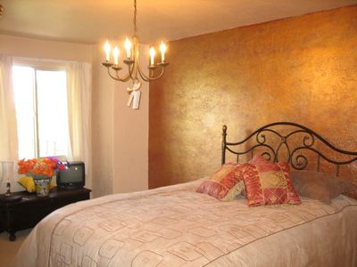 Santa Fe Style Decorated Bedrooms