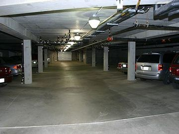 Underground parking direct access to apartment